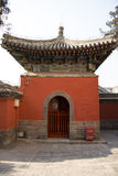 Asia China, Beijing, Baita temple, classical architecture,palace hall Stock Photography