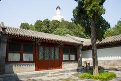 Asia China, Beijing, Beihai Park, garden architecture, Yongan temple, Stock Images