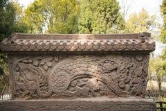 Asia China, Beijing, beihai park, stone wall screen Royalty Free Stock Photo