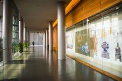 Asia China, Beijing, capital museum, indoor exhibition hall Stock Image