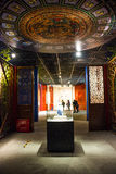 Asia China, Beijing, capital museum, indoor exhibition hall Royalty Free Stock Images