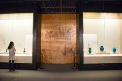 Asia China, Beijing, capital museum, indoor exhibition hall Stock Photo