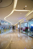 Asia China, Beijing, Chang Ying Tian Jie shopping center, interior decoration Royalty Free Stock Images