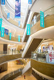 Asia China, Beijing, Chang Ying Tian Jie shopping center, interior decoration Stock Photography