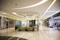 Asia China, Beijing, Chang Ying Tian Jie shopping center, interior decoration Royalty Free Stock Photography