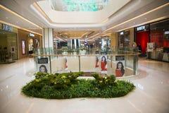 Asia China, Beijing, Chang Ying Tian Jie shopping center, interior decoration Royalty Free Stock Images