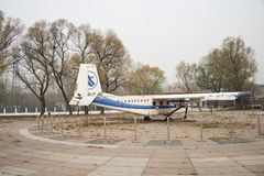 Asia China, Beijing, Civil Aviation Museum, outdoor area Royalty Free Stock Photography