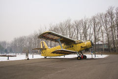 Asia China, Beijing, Civil Aviation Museum,Outdoor exhibition area, aircraft Royalty Free Stock Photos
