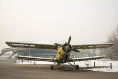 Asia China, Beijing, Civil Aviation Museum,Outdoor exhibition area, aircraft Stock Image