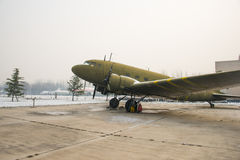 Asia China, Beijing, Civil Aviation Museum,Outdoor exhibition area, aircraft Stock Images