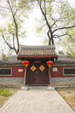 Asia China, Beijing, Dadu Ruins Park, architecture and landscape,Antique buildings Stock Images