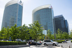 , Asia China, Beijing, Financial Street, building blocks Stock Photography