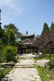 Asia China, Beijing, Fragrant Hill Park, classical garden architecture Royalty Free Stock Photography