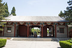 Asia China, Beijing, Fragrant Hill Park, classical garden architecture Royalty Free Stock Images