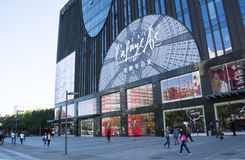 In Asia, China, Beijing, Galeries Lafayette Royalty Free Stock Image