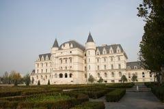 In Asia, China, Beijing, Garden Expo, European architecture Royalty Free Stock Photo