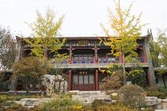 In Asia, China, Beijing, Garden Expo Park, the antique building, courtyard Stock Photos