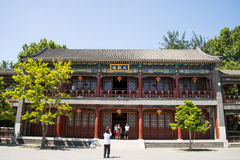 Asia China, Beijing, Grand View Garden, Garden building, attic, Daguanlou Stock Image