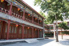 Asia China, Beijing, Grand View Garden,Garden building, attic, Stock Photo