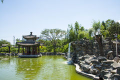 Asia China, Beijing, Grand View Garden, Garden landscape Royalty Free Stock Images