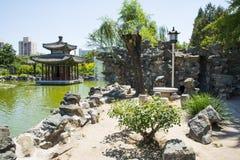 Asia China, Beijing, Grand View Garden, Garden landscape Stock Image