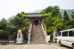 Asia China, Beijing, the Great Wall Juyongguan,The administrative office of Cao family Stock Photography