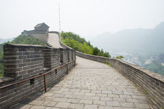 Asia China, Beijing, the Great Wall Juyongguan, Royalty Free Stock Photography