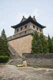 Asia China, Beijing, the Great Wall Juyongguan,architecture,South Gate Tower Stock Photos