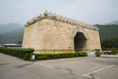 Asia China, Beijing, the Great Wall Juyongguan,architecture,Yuntai Royalty Free Stock Photography