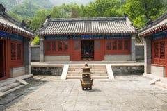 Asia China, Beijing, the Great Wall Juyongguan,Horse Temple,Incense burner Stock Image