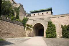 Asia China, Beijing, the Great Wall Juyongguan,north gate, floor Stock Photos