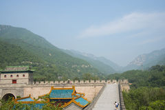 Asia China, Beijing, the Great Wall Juyongguan,north gate, floor Royalty Free Stock Images