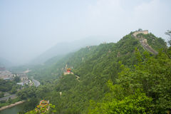 Asia China, Beijing, the Great Wall Juyongguan,Scenery and architecture Stock Images