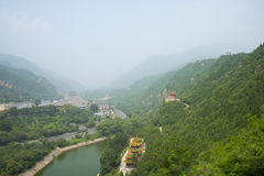 Asia China, Beijing, the Great Wall Juyongguan,Scenery and architecture Royalty Free Stock Images
