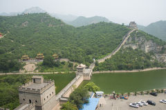 Asia China, Beijing, the Great Wall Juyongguan,Scenery and architecture Stock Photos
