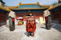 Asia China, Beijing, the Great Wall Juyongguan,Zhenwu temple, Royalty Free Stock Images