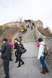 Asia China, Beijing, historic buildings,badaling the Great Wall Stock Photo