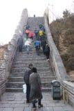 Asia China, Beijing, historic buildings,badaling the Great Wall Stock Photos