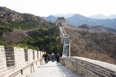 Asia China, Beijing, historic buildings,badaling the Great Wall Stock Images