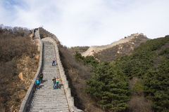 Asia China, Beijing, historic buildings,badaling the Great Wall Stock Image