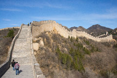 Asia China, Beijing, historic buildings,badaling the Great Wall Stock Photos