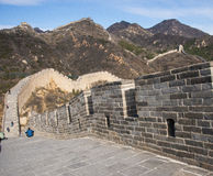 Asia China, Beijing, historic buildings,badaling the Great Wall Stock Photography
