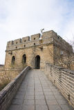 Asia China, Beijing, historic buildings,badaling the Great Wall Stock Photo