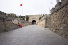 Asia China, Beijing, historic buildings, the Great Wall Royalty Free Stock Images