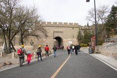 Asia China, Beijing, historic buildings, the Great Wall Royalty Free Stock Photography