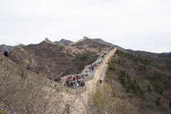 Asia China, Beijing, historic buildings, the Great Wall Stock Images