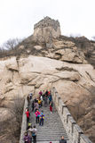 Asia China, Beijing, historic buildings, the Great Wall Royalty Free Stock Image