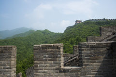 Asia China, Beijing, historic buildings, the Great Wall Juyongguan, Stock Images