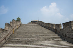 Asia China, Beijing, historic buildings, the Great Wall Juyongguan, Royalty Free Stock Photos