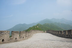 Asia China, Beijing, historic buildings, the Great Wall Juyongguan, Royalty Free Stock Image